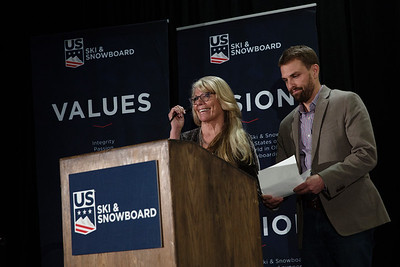 Julius Blegen Award: Bruce Crane Chairman's Awards Dinner 2018 U.S. Ski & Snowboard Congress Photo: U.S. Ski & Snowboard