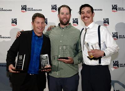 Dave Reynolds,  Brady McNeill, Mike Ramirez Chairman's Awards Dinner 2018 U.S. Ski & Snowboard Congress Photo: U.S. Ski & Snowboard