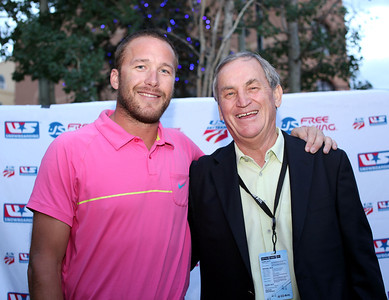 Bode Miller and Bill Marolt 2011 USSA Partner Summit Photo: Sarah Brunson/USSA