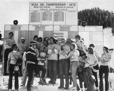 1972 NCAA Ski Championships Photo © University of Colorado