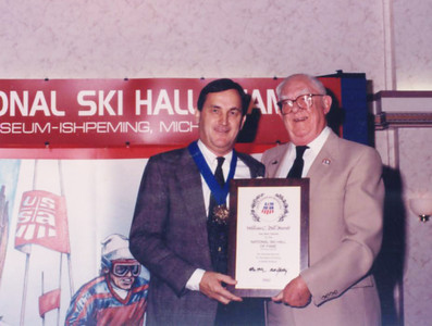 Bill Marolt inducted into the National Ski Hall of Fame. Photo © University of Colorado
