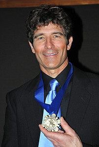 Cary Adgate at the induction ceremony for the U.S. Ski and Snowboard Hall of Fame, Deer Valley Resort, Park City, Utah