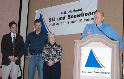 U.S. National Ski and Snowboard Hall of Fame induction, SIA.08 SnowSports Trade Show