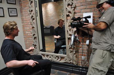 Paul Mitchell Salon Experience Nate Holland New York City, NY November 4, 2010 Photo: Katie Perhai/USSA