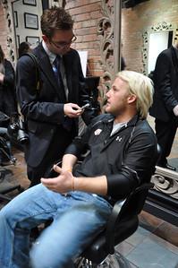 Paul Mitchell Salon Experience Andrew Weibrecht New York City, NY November 4, 2010 Photo: Katie Perhai/USSA