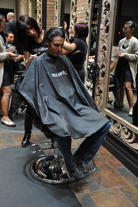 Paul Mitchell Salon Experience Johnny Spillane New York City, NY November 4, 2010 Photo: Katie Perhai/USSA