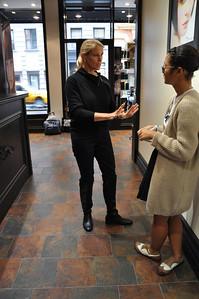 Paul Mitchell Salon Experience New York City, NY November 4, 2010 Photo: Katie Perhai/USSA
