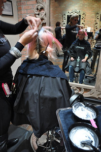 Paul Mitchell Salon Experience Shannon Bahrke New York City, NY November 4, 2010 Photo: Katie Perhai/USSA