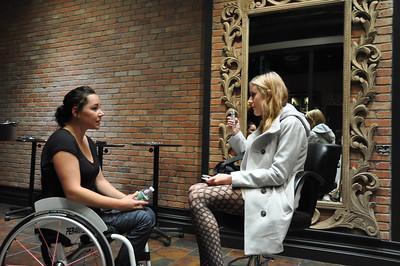 Paul Mitchell Salon Experience Alana Nichols New York City, NY November 4, 2010 Photo: Katie Perhai/USSA