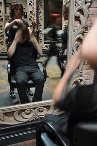 Paul Mitchell Salon Experience Louie Vito New York City, NY November 4, 2010 Photo: Katie Perhai/USSA