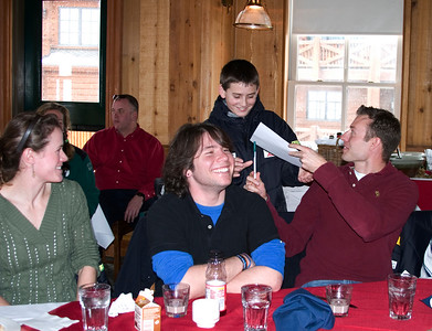 Athletes and USSA Staff join Ryan Long for lunch at Deer Valley as a part of the Make-a-Wish program .