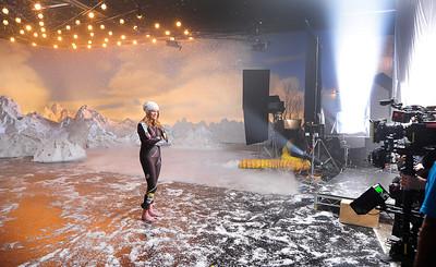 Alice McKennis - NBC Sochi 2014 Promo Shoot