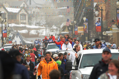 2010 Park City Olympian Parade Photo: Tom Kelly/USSA