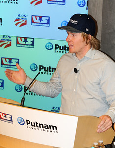 Partnership announcement press conference with Putnam Investments and the U.S. Ski Team and U.S. Snowboarding at Putnam's headquarters in Boston. (c) 2010 USSA