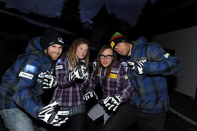 2011 Reusch Team Announcement Photo © Jon Margolis
