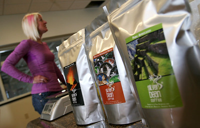 Shannon Bahrke's Silver Bean Coffee at the COE Photo: USSA