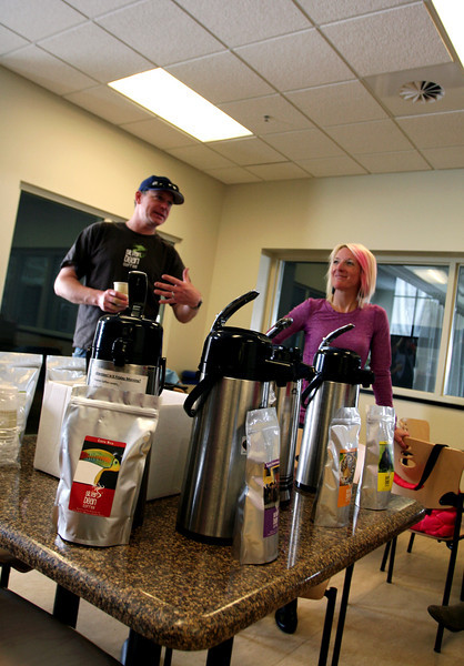 Shannon Bahrke's Silver Bean Coffee at the COE