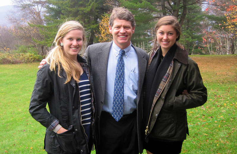 Olympian Tiger Shaw with daughters Eva (16) and Kara (22), appointed as chief operating officer, effective October 1. Shaw, a native of Stowe, VT and former U.S. Alpine Ski Team athlete, will transition in the spring of 2014 to become president and chief executive officer of the USSA.