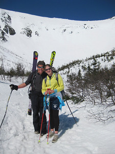 Olympian Tiger Shaw with daughter Eva hiking Tuckermans, appointed as chief operating officer, effective October 1. Shaw, a native of Stowe, VT and former U.S. Alpine Ski Team athlete, will transition in the spring of 2014 to become president and chief executive officer of the USSA.