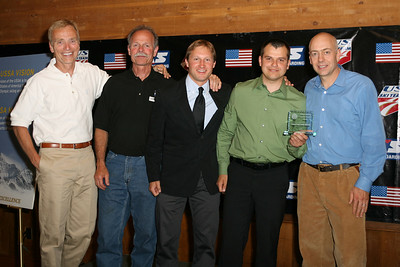 Central Cross Country Ski Team winner of the 2007 Cross Country Club of the Year Award at the USSA Chairman's Awards Dinner May 18, 2007 Deer Valley, Park City, Utah Photo: Scott Sine
