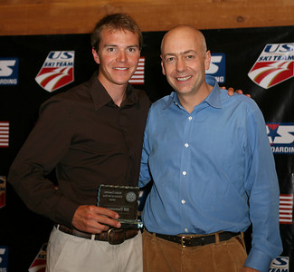 U.S. Ski Team Nordic Combined athlete Billy Demong winner of the Nordic Combined Athlete of the Year Award and the Beck Award at the USSA Chairman's Awards Dinner May 18, 2007 Deer Valley, Park City, Utah Photo: Scott Sine
