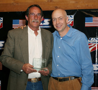 Bob Dart winner of the Bud & Mary Little Award at the USSA Chairman's Awards Dinner May 18, 2007 Deer Valley, Park City, Utah Photo: Scott Sine