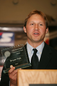 Bryan Fish at the USSA Chairman's Awards Dinner May 18, 2007 Deer Valley, Park City, Utah Photo: Scott Sine