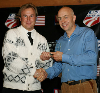 Martin Bayer wins the Nordic Combined Domestic Coach of the Year Award at the USSA Chairman's Awards Dinner May 18, 2007 Deer Valley, Park City, Utah Photo: Scott Sine