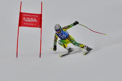 Dec 30-31 Mt Ripley J123 (M) GS 3rd race 1st run