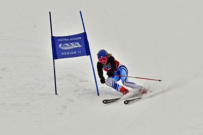 Dec 30-31 Mt Ripley J123 (W) GS 2nd race 2nd run