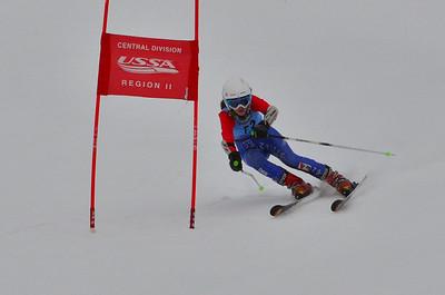 Dec 30-31 Mt Ripley J123 (W) GS 3rd Race 1st run