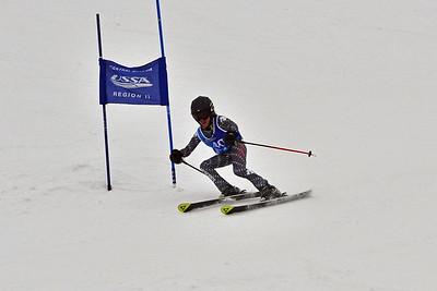 Dec 30-31 Mt Ripley J456 (M) GS 2nd race 1st run
