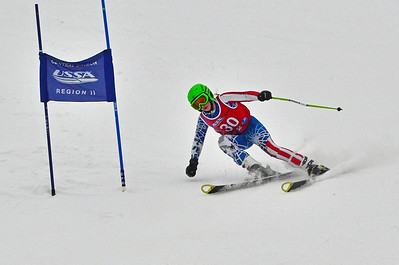 Dec 30-31 Mt Ripley J456 (W) GS 2nd race 1st run