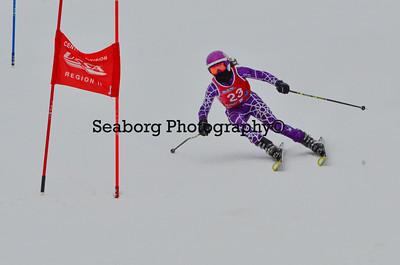 Dec 30 U14 & under Girls  GS 2nd run-1241