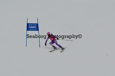 Dec 30 U14 & under Girls  GS 2nd run-1240