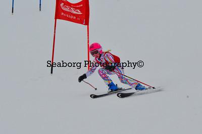Dec 30 U14 & under Girls  GS 2nd run-1206