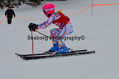 Dec 30 U14 & under Girls  GS 2nd run-1209