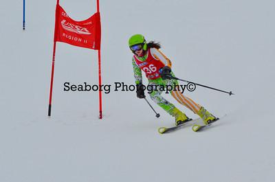Dec 30 U14 & under Girls  GS 2nd run-1214