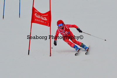 Dec 30 U14 & under Girls  GS 2nd run-1238