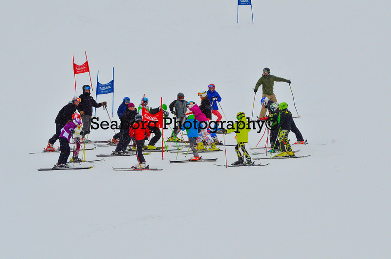 Dec 30 U14 & under Girls  GS 2nd run-1194