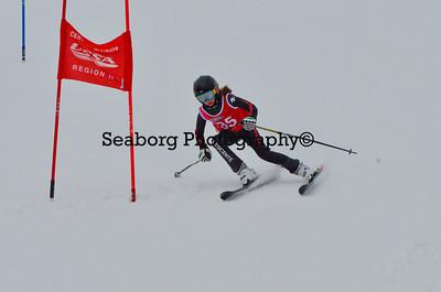 Dec 30 U14 & under Girls  GS 2nd run-1203