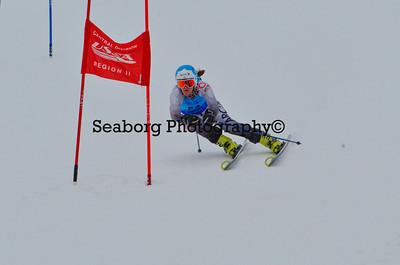 Dec 30 U14 & under Girls  GS 2nd run-1198