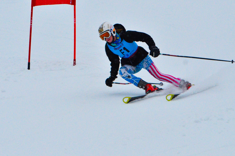 Dec 30 U14 & under Girls  GS 1st run-979