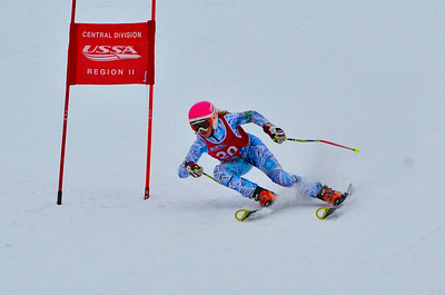 Dec 30 U14 & under Girls  GS 1st run-997