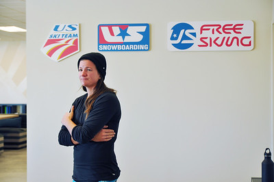 Kelly Clark visits TEAM Academy November 15, 2012 Photo: Riley Steinmetz/USSA