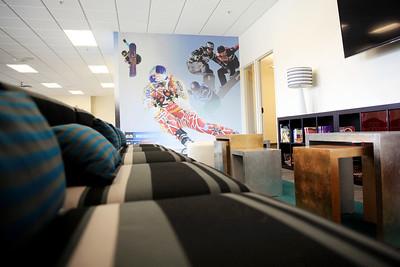 USSA Team Academy at the Center of Excellence New interior Photo: Sarah Brunson/USSA