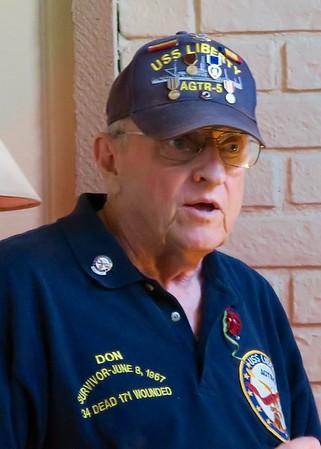 USS Liberty Survivor Don Pageler