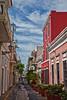 Old San Juan street scene