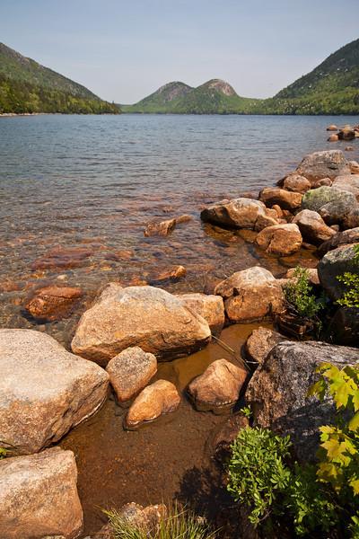 Jordan Pond & the Bubbles, Acadia