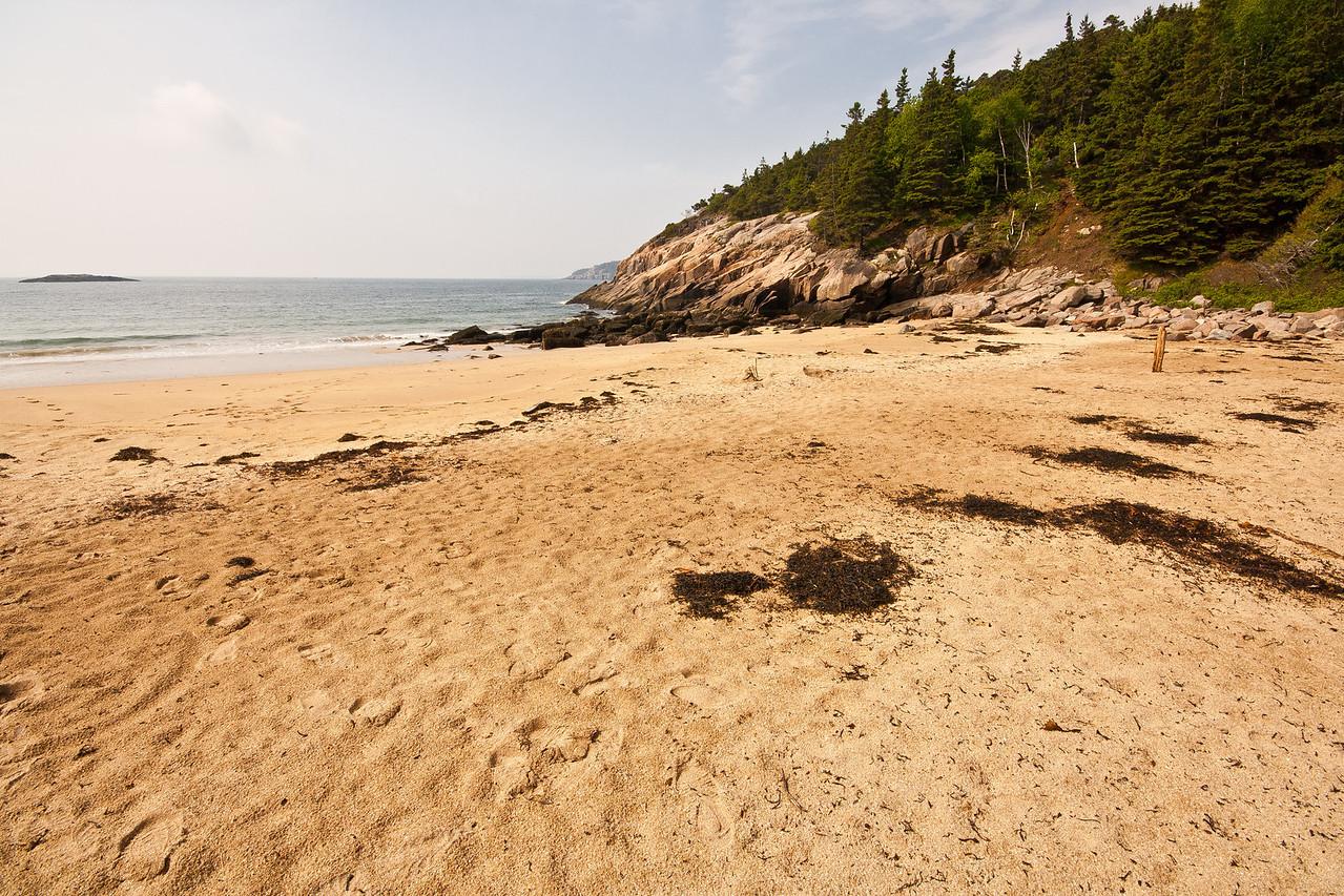 Sand Beach at Great Head, Acadia